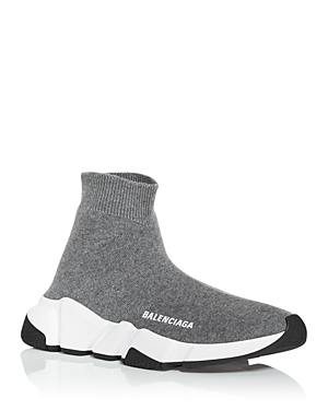 BALENCIAGA High tops WOMEN'S SPEED KNIT HIGH TOP SNEAKERS