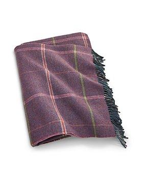 Ralph Lauren - Platsfield Plaid Wool Throw Blanket