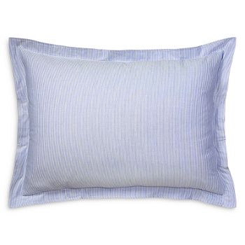 Ralph Lauren - Oxford Stripe Cotton Pillowcase, Standard