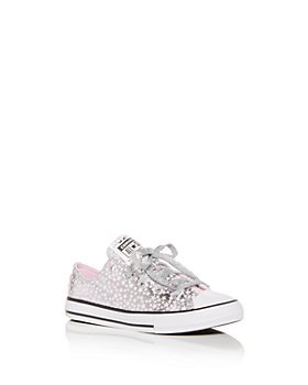 Converse - Girls' Chuck Taylor All Star Metallic Star Low Top Sneakers - Toddler, Little Kid