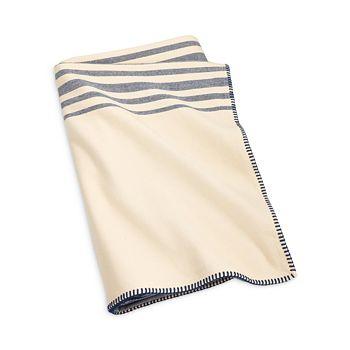 Ralph Lauren - Waltham Striped Blanket, Full/Queen