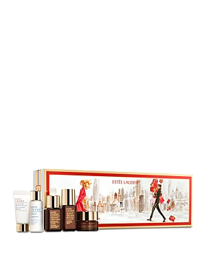 What It Is: Discover Estee Lauder\\\'s Advanced Night Repair essentials with this limited-time gift set. The daily regimen will help significantly reduce the look of lines and wrinkles and reignite your radiance. Get started now. Set Includes: - New Advanced Night Repair Synchronized Multi-Recovery Complex 0.24 oz. (Deluxe Travel Size) - Advanced Night Repair Intense Reset Concentrate 0.17 oz. (Deluxe Travel Size) - Advanced Night Micro Cleansing Foam 0.24 oz. (Deluxe Travel Size) - Advanced Night