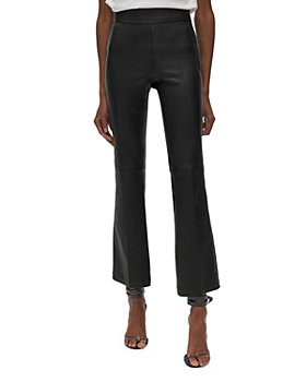 Helmut Lang - Flared Leather Leggings