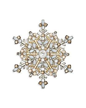 Kim Seybert - Snowflake Napkin Ring Set