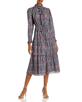 Rebecca Taylor - Printed Midi Dress