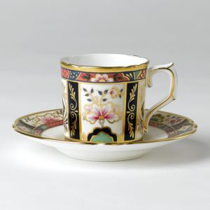 Royal Crown Derby Chelsea Garden Coffee Cup