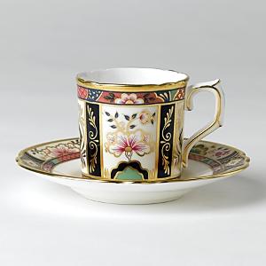 Royal Crown Derby Chelsea Garden Coffee Cup