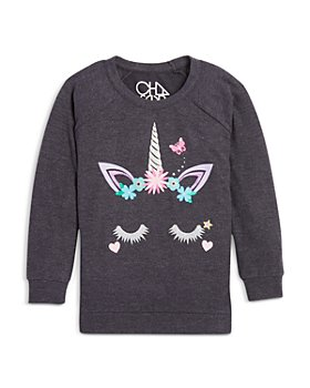 CHASER - Girls' Unicorn Sweatshirt - Little Kid