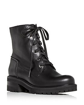 La Canadienne - Women's Camille Waterproof Block Heel Combat Boots