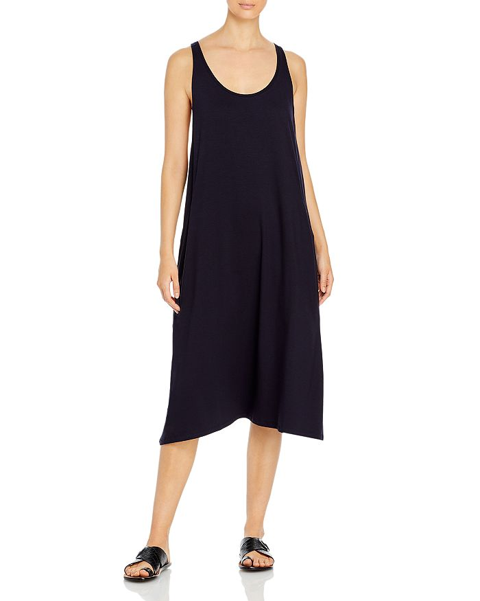Eileen Fisher - Scoop Neck Midi Dress