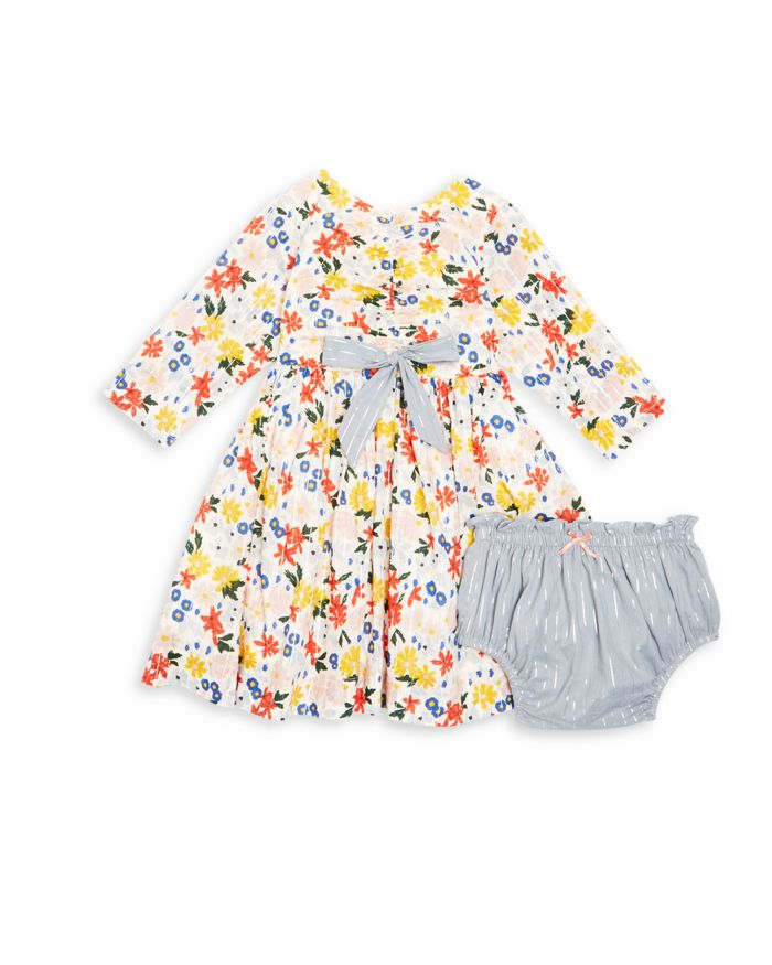 Pink Chicken Girls' Lucy Floral Dress & Bloomers Set - Baby    Bloomingdale's