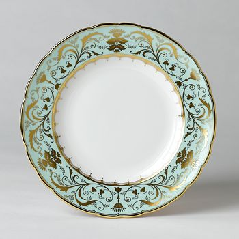 "Royal Crown Derby - ""Darley Abbey"" Dinner Plate, 10"""