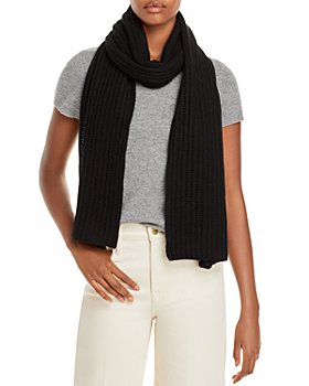C by Bloomingdale's - Solid Ribbed Cashmere Scarf - 100% Exclusive