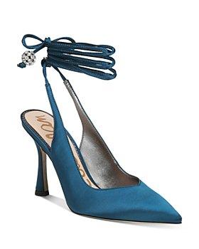 Sam Edelman - Women's Harvie Pointed Toe Ankle Tie Pumps