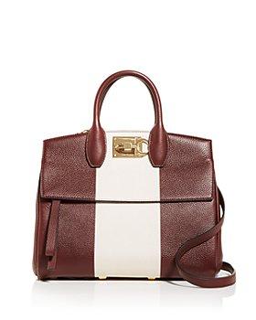Salvatore Ferragamo - Studio Bag Small Leather Satchel