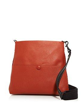 Callista - Iconic Slim Messenger Leather Shoulder Bag