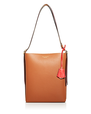Tory Burch Perry Leather Bucket Bag