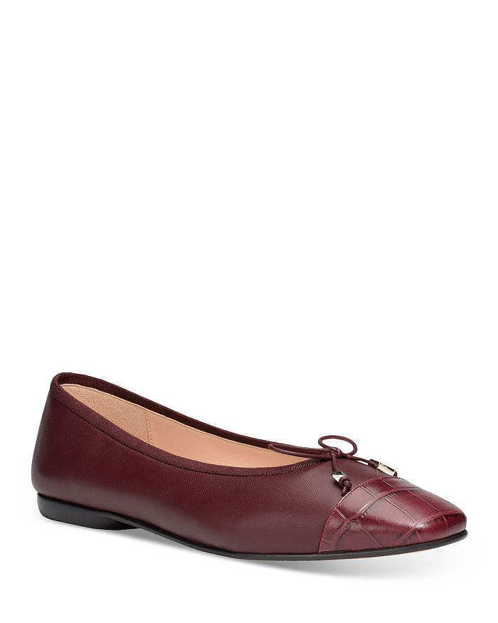 kate spade new york - Women's Pavlova Square Toe Leather Flats