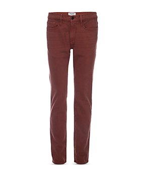 FRAME - Slim Fit Jeans in Sumac
