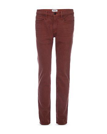 FRAME - Slim Fit Jeans in Sumac
