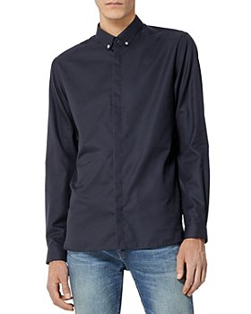 The Kooples - Cotton Button Collar Shirt
