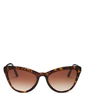 Prada - Women's Cat Eye Sunglasses, 56mm