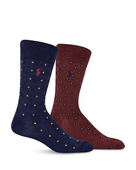 Polo Ralph Lauren - Fulard Paisley Slack Socks, Set of 2