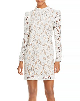 WAYF - Emma Puff Sleeve Lace Dress
