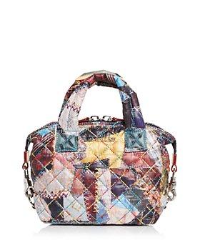 MZ WALLACE - Crazy Quilt Print Micro Sutton Bag