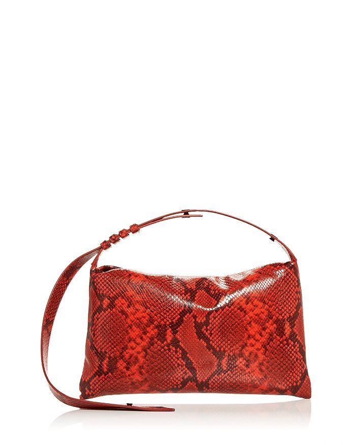 SIMON MILLER - Puffin Leather Shoulder Bag
