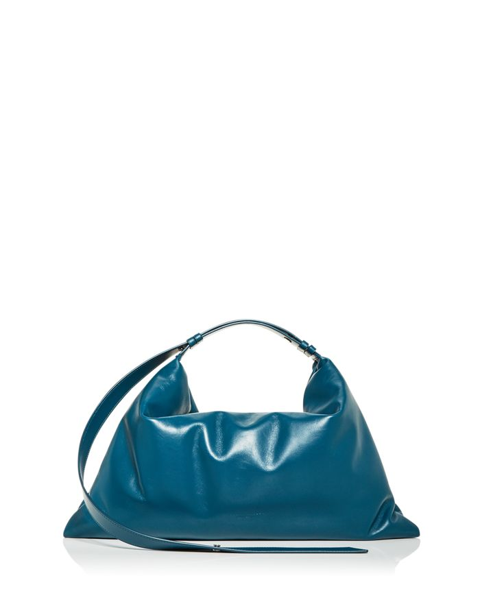 SIMON MILLER Large Puffin Leather Shoulder Bag  | Bloomingdale's