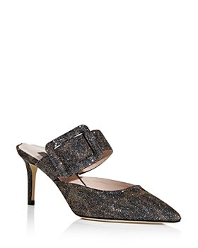 SJP by Sarah Jessica Parker - Women's Modish Glitter High Heel Slide Sandals