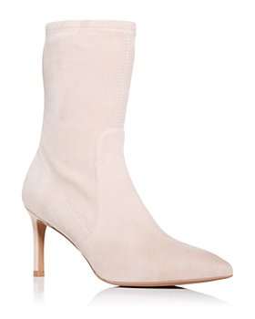 Stuart Weitzman - Women's Wren Pointed Toe High Heel Booties