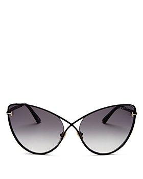 Tom Ford - Women's Leila Cat Eye Sunglasses, 63mm