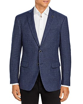 John Varvatos Star USA - Slim Fit Bleecker Check Jacket