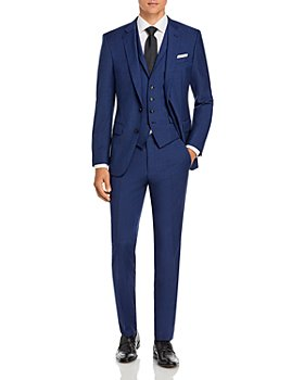 BOSS - Hutson5/Gander3 Solid 3-Piece Suit