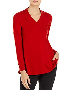 Eileen Fisher - V Neck Top