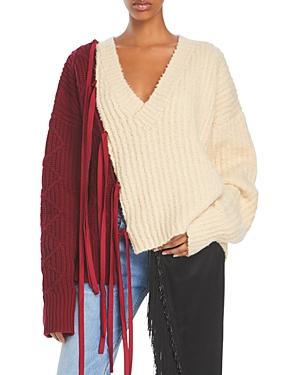Harrison Tie Sleeve Sweater