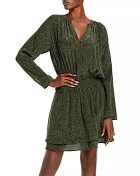 Rails - Jasmine Printed Smocked Dress