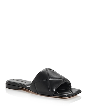 Bottega Veneta Women's Quilted Slide Sandals