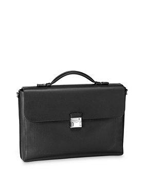 Montblanc - Meisterstück Soft Grain Leather Single Gusset Briefcase