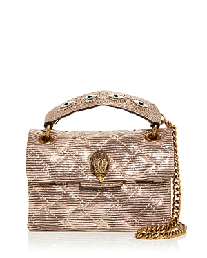Kurt Geiger London Mini Kensington Quilted Crossbody-Handbags