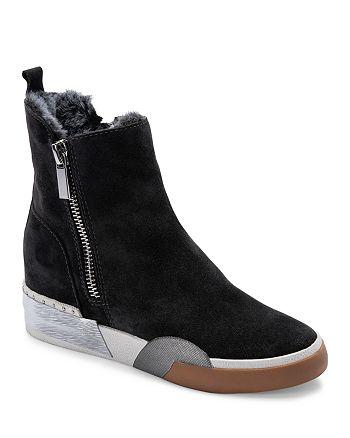 Dolce Vita - Women's Zelma Zip High Top Sneaker Booties