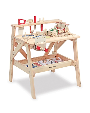 Melissa & Doug Wooden Project Workbench - Ages 3+