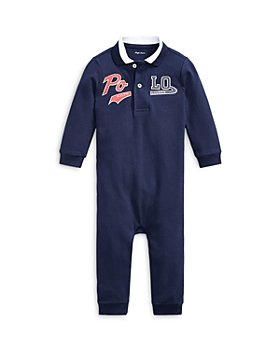 Ralph Lauren - Boys' Cotton Piqué Polo Coverall - Baby