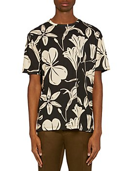 Paul Smith - Cotton Floral Graphic Tee