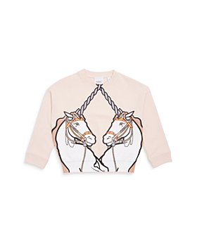 Burberry - Girls' Lilia Unicorn Sweatshirt - Little Kid, Big Kid