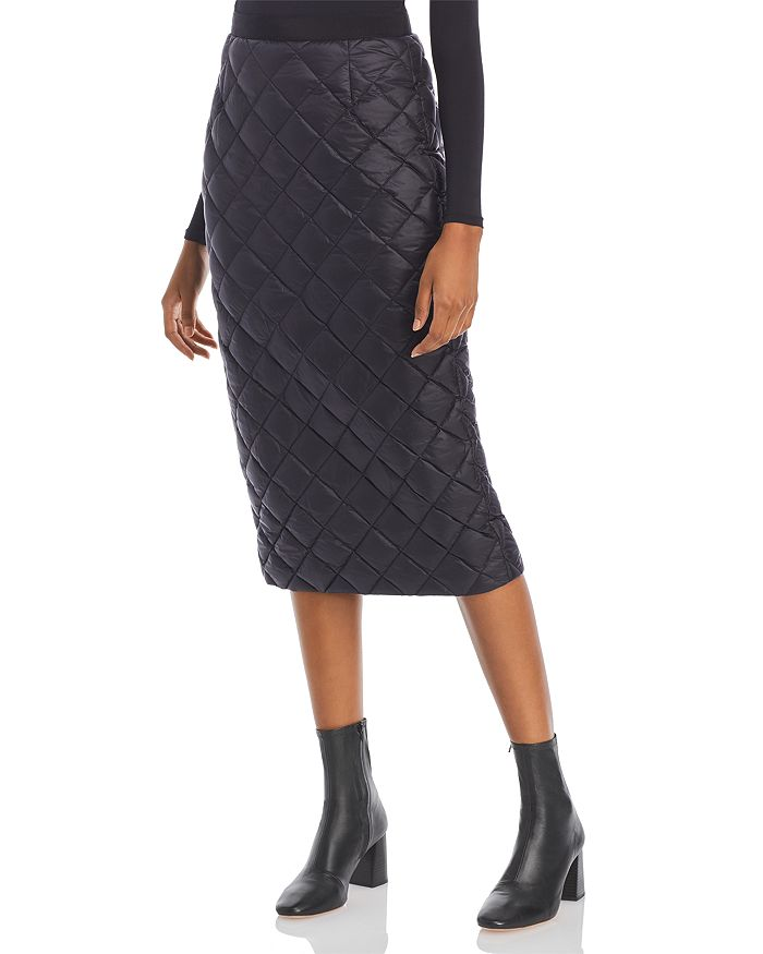 Moncler GONNA QUILTED DOWN MIDI SKIRT