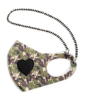 JewelErry - Camo Heart & Chain Face Mask - 100% Exclusive