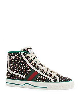 Gucci - Women's Tennis 1977 Liberty London High Top Sneakers